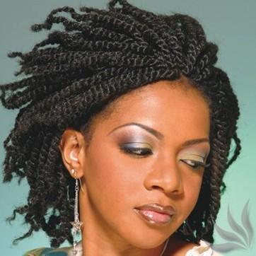 Kinky Twist Hairstyles